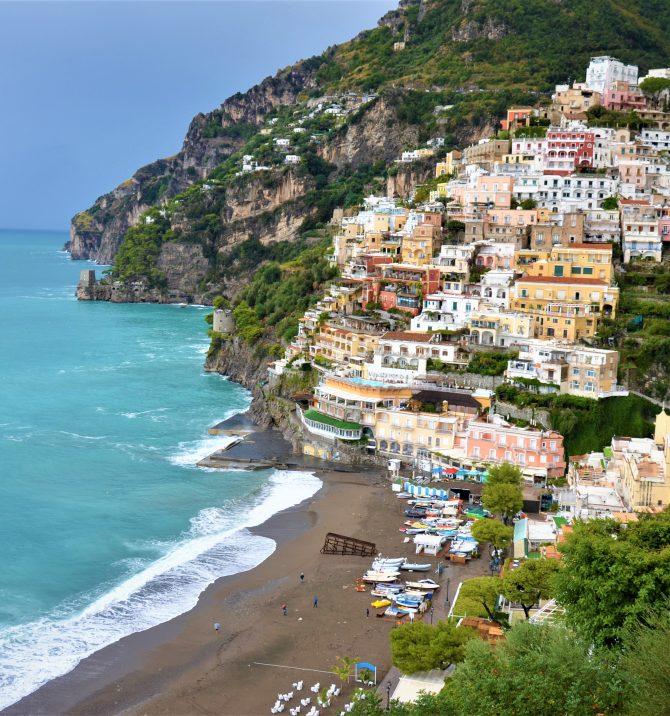 Wybrzeże Amalfi i Neapol - jak tu się nie zakochać?